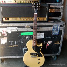 Billy's Gibson Les Paul Jnr TV Yellow