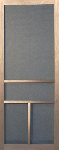 """36"""" wide wooden screen door - $19.98 at Menard's Pergola Patio, Pergola Plans, Diy Patio, Backyard, Wooden Screen Door, Screen Doors, Old Home Remodel, Broken Screen, Basement Bedrooms"""
