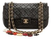 What Goes Around Comes Around #Vintage #Chanel Black Quilted Charm Bag #Shopbop