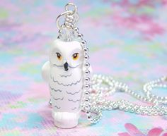 NEW Lego WHITE OWL Animal w//Printed Face Harry Potter Minifig Pet Bird Hedwig