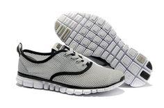 2012 Nike Free Run 3.0 V4 Chaussures Hommes Gris Noir.€50.93