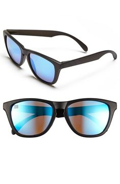 Men's Blenders Eyewear 'Deep Space Neptune M Class' 69mm Sunglasses - Black/ Blue