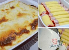 12 skvělých receptů, díky kterým už budete vědět co navařit na nedělní oběd, strana 2 | NejRecept.cz Mashed Potatoes, Ethnic Recipes, Ham And Cheese, Souffle Dish, Simple Cooking Recipes, Food Food, Whipped Potatoes, Smash Potatoes, Shredded Potatoes