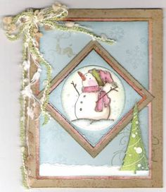 Have Yourself a Shabby Little Christmas by mitchygitchygoomy - Cards and Paper Crafts at Splitcoaststampers Shabby Chic Christmas, Fine Paper, Circle Punch, Basic Grey, Adore You, Little Christmas, Petunias, Cool Cards, Christmas Photos
