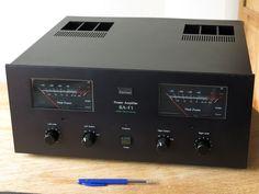 Vintage 1979/1980 High End SANSUI BA-F1  Super Fidelity DD/DC Amplifier