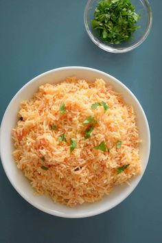 Freshly cooked Indian tomato rice