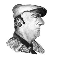 """Ilustraciones que realicé para Vino """"Tierra de Poetas"""". Vino de Chileno. Pablo Neruda."""
