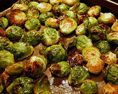 """Turtle Shells"" aka: Roasted Brussel Sprouts"