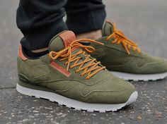 Reebok Classic Leather Suede OL Verde