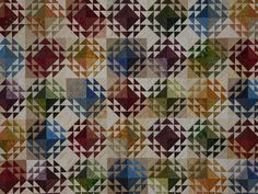 Corn and Beans Quilt -- exquisite carefully made Amish Quilts from Lancaster (hs7025)