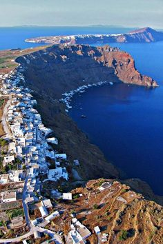 Thirassia Island, Santorini, Greece