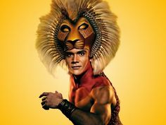 Close-up of Simba from The Lion King Musical Lion King Musical, Lion King Broadway, The Muppets Characters, Prince Edward Theatre, Disney Tickets, Earl Jones, Jon Favreau, Pride Rock, Disney On Ice