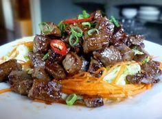 Com Bo Luc Lac. Vietnamese Shaking Beef.