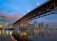 Granville St. Bridge, Vancouver, Canada jigsaw puzzle in Bridges puzzles on TheJigsawPuzzles.com