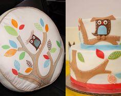 Adorable Owl Cake - Adorable Owl Cake