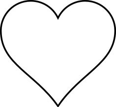 clip art heart outline google search foyer pinterest rh pinterest com sacred heart clipart black and white heart clip art black and white free
