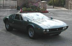 1969 De Tomaso Mangusta 3/4 Avant