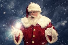 A real authentic Christmas photo of Santa Claus capturing the magic of Christmas. Pictures and This images can be licensed to use at realsantaimages.com | Do Not Use Without A License