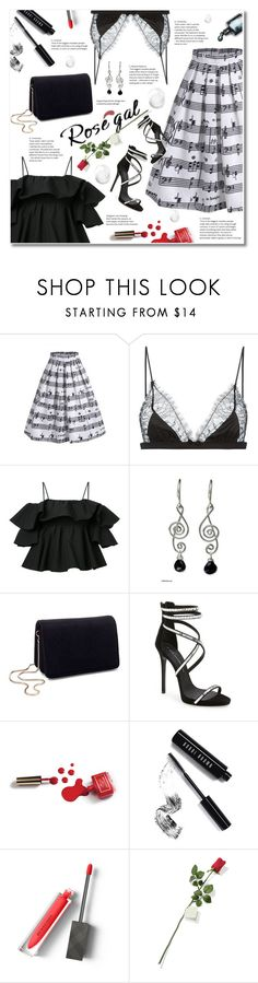 """""""Music Note Dresses&Top – contest sponsored by ROSEGAL.COM"""" by ksenia-yo-new ❤ liked on Polyvore featuring Music Notes, Maison Close, MSGM, NOVICA, Miss Selfridge, Giuseppe Zanotti, Ciaté, Dolce&Gabbana, Bobbi Brown Cosmetics and Burberry"""