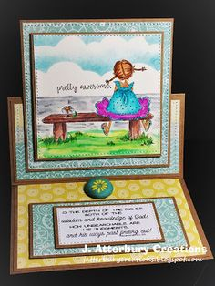 Scripture Series: Depth of the Riches Easel Card---Join Us for Anything Goes/Family Friendly Challenge at Word Art Wednesday!