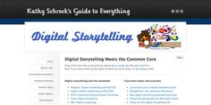 Great collection of resources for digital storytelling in classrooms. http://www.schrockguide.net/digital-storytelling.html