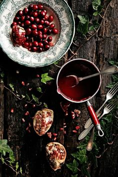 cranberries and pome