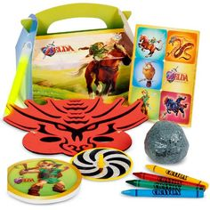 The Legend of Zelda Party Favor Box BirthdayExpress http://www.amazon.com/dp/B007QA54D0/ref=cm_sw_r_pi_dp_6sWWub0PZPQXG