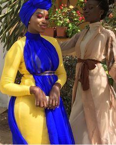 Long African Dresses, Latest African Fashion Dresses, African Wear, Kimono Fashion, Hijab Fashion, Fashion 101, Girl Fashion, African Traditional Wear, Unique Ankara Styles