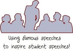 Using famous speeches (Severn Suzuki, Randy Pausch and MLK Jr) to inspire student speeches! Using famous speeches (Severn Suzuki, Randy Pausch and MLK Jr) to inspire student speeches! Randy Pausch, Speech And Debate, Famous Speeches, History Teachers, The Orator, Writing Resources, Public Speaking, Teaching English, Studio