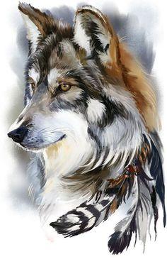 Каталог эскизов тату с волками, идеи для разработки индивидуального дизайна, фотографии татуировок. Значение тату с волком.