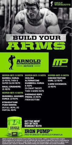 Arnold Series Workout
