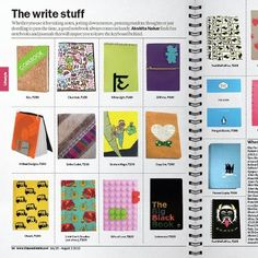Whether you use it for taking notes, jotting down memos, penning random thoughts or just doodling to pass the time, a good notebook comes in handy. 61c corkbooks Rs. 350 www.61c.in