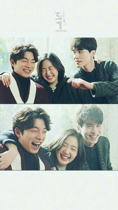 Gong Yoo, Kim Go-eun and Lee Dong Wook in Ep 9 of the drama Goblin. Goblin The Lonely And Great God, Ver Drama, Goblin Gong Yoo, Lee Dong Wook Goblin, Goblin Korean Drama, Yoo Gong, Drama Fever, Kim Go Eun, Drame