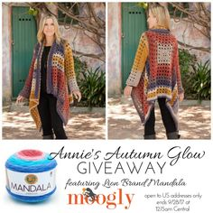 Annie's Autumn Glow Collection: Review & Giveaway on Moogly! Giveaway open to US addresses only, ends 9/28/17