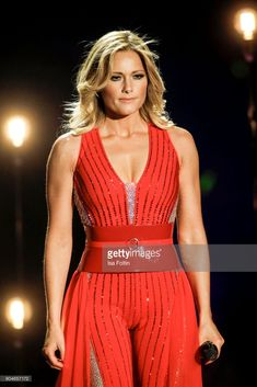 German singer Helene Fischer performs at the 'Schlagerchampions - Das grosse Fest der Besten' TV Show at Velodrom on January 13, 2018 in Berlin, Germany.