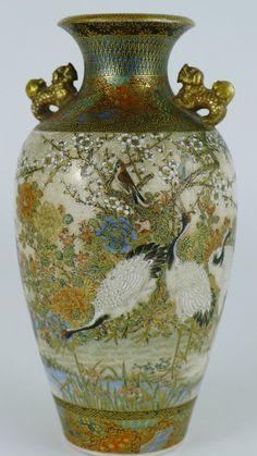 Antiques Atlas - Wonderful Quality 19th C Japanese Satsuma Vase