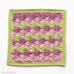 Hopeful Honey | Craft, Crochet, Create: Meadow Afghan Square Crochet Pattern