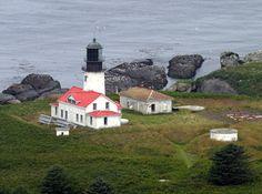 Cape Flattery Lighthouse, Washington at Lighthousefriends.com