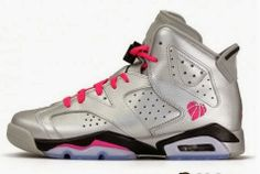 THE SNEAKER ADDICT: 2014 Air Jordan 6 VI Valentines Day GS Silver Sneaker (Detailed Images)