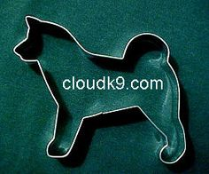 Shiba inu shaped cookie cutter
