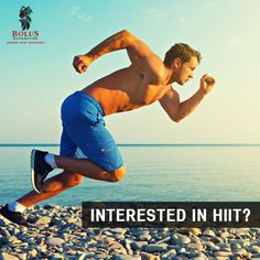 Considering trying HIIT? An example of a HIIT session is a 30 second sprint, immediately followed by a 30 second walk (or REST). These sprint and rest periods are your intervals, and should be repeated for 10-15 minutes.
