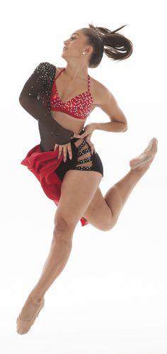 University of St. Thomas Dance Team- Jazz costume-  covered in rhinestones!