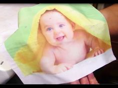 TRANSFERIR IMAGEN A TELA MUY FACIL / Transfer picture to cloth. Very easy - YouTube