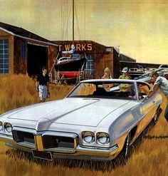 1970 Pontiac LeMans Hardtop Coupe - 'Boat Yard': Art Fitzpatrick and Van Kaufman