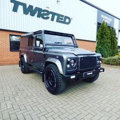 "2,446 Likes, 17 Comments - Twisted Automotive (@twisted_automotive) on Instagram: ""A Corris Grey 110 with extensive detailing... #Defender #LandRover #LandRoverDefender #Automotive…"""