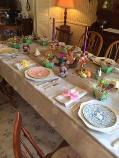 Easter holiday with family. I love to decorate!