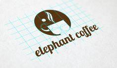 Elephant coffee on Behance