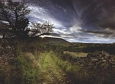 Pendle Hill in Lancashire © Nigel Flory  http://www.historyextra.com/witchcraft  THE WAR ON WITCHES
