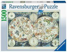 Ravensburger Puzzle, Detroit Tigers, Patrick Wilson, Famous Artwork, Thing 1, World Images, 3d Puzzles, Us Map, Historical Maps