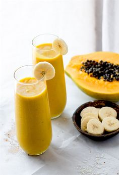 Tropical Turmeric Golden Milk Smoothie   Cotter Crunch